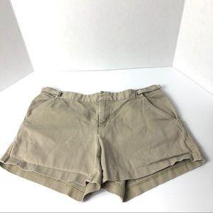 J.Crew Chino Shorts Size 4